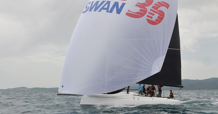 The ClubSwan 36 sea trials took