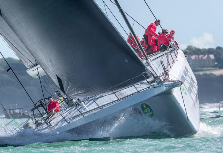 George David's Rambler 88 - hoping for big breeze in this year's Rolex Fastnet Race