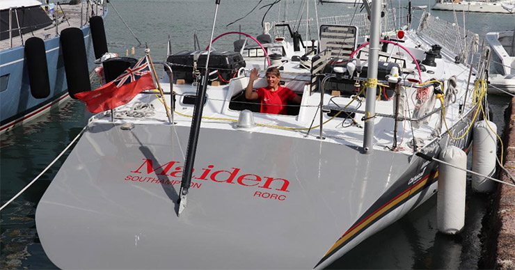 Liz Wardley will skipper Tracey Edwards' Farr 58 Maiden