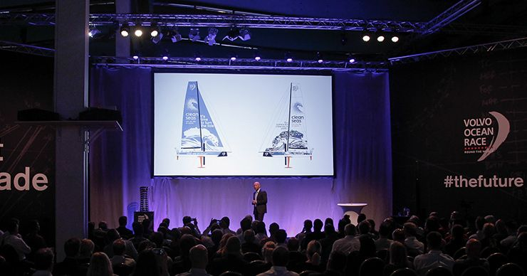 Volvo Ocean Race is going to foil