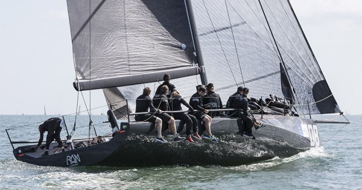 Carkeek Ráns away with Fast40 podium as Black Pearl shines