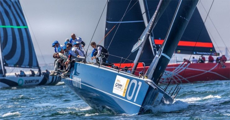 Azzurra 52 Super Series in Cape Town