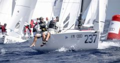 Peter Duncan is the Audi J/70 World Champion