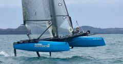 Phantom Decksweeper sail catamaran