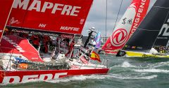 MAPFRE leads the Volvo Ocean Race