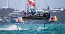 America's Cup team boats