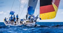 Team Germany sailing