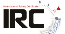 IRC International Rating Certificate