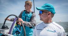 Chris Nicholson and Nicolai Sehested