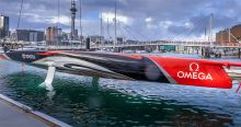 Emirates Team New Zealand AC75 boat