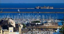 Cherbourg will host the finish of the Rolex Fastnet Race in 2021 and 2023
