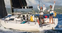 Two Handed Jangada win the RORC Transatlantic Race