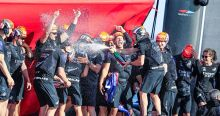 Emirates Team New Zealand win the 36th America's Cup